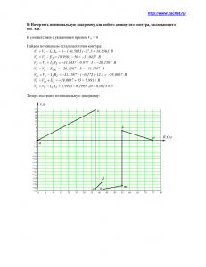 Решение задачи 1.1, вариант 62, Л.А.Бессонов, ТОЭ